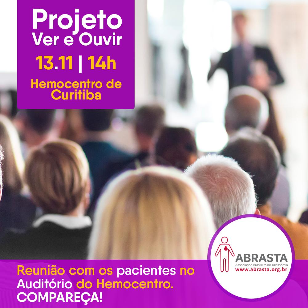 Projeto Ver E Ouvir Estará Em Curitiba